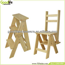 christmas decoration tool foldable wood stool and ladder