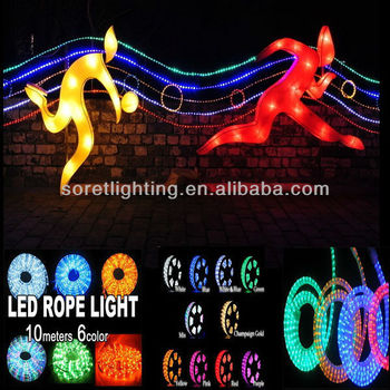Uv Pvc Color Changing Led Rope Light/neon Rope Lights