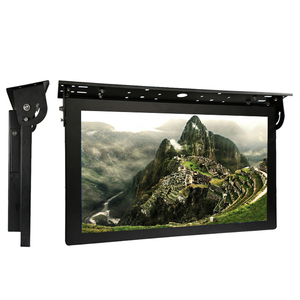 "21.5"" Bus/Car ceiling mount 1080P HD advertising lcd digital tv signage"