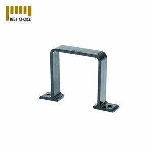 Powder coated stainless steel square tube brackets