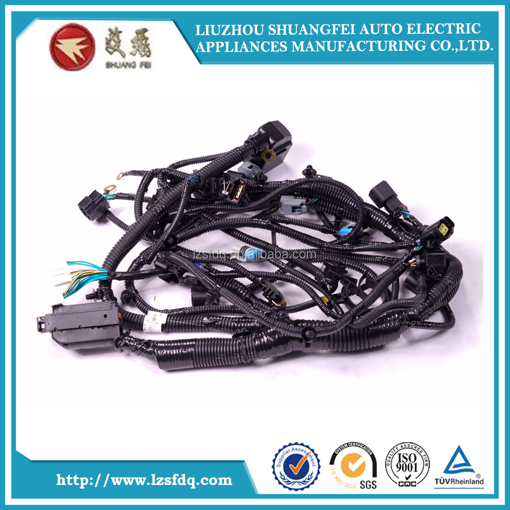 Gm Car Engine Wiring Harness Assembly Tractor Wire Plastic