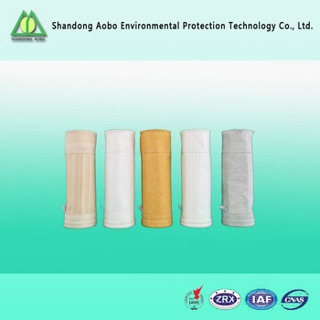 PTFE felt/ PTFE filter bag / dust collector bag/High efficient PTFE dust collection filter bag