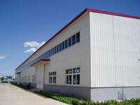 low cost prefab warehouse design