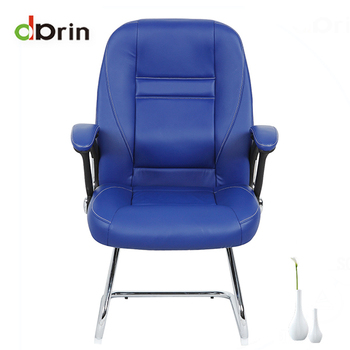 Deep Blue Massage Leather Gaming Chair Without Wheels   Buy Zhejiang Metal  Office Chair Without Wheels,Deep Blue Leather Reclining Executive ...