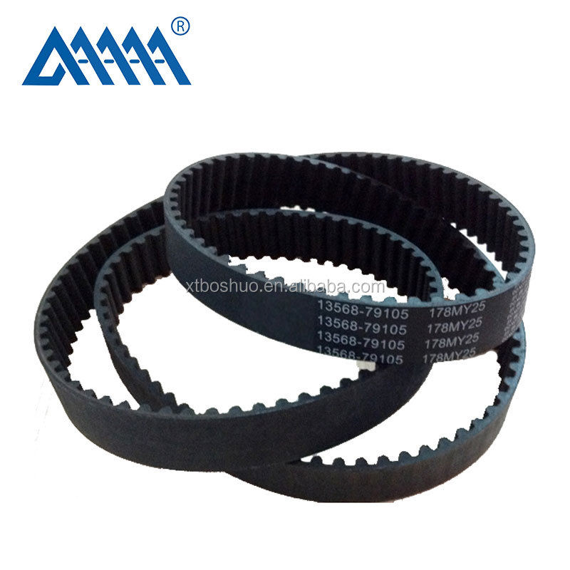 Auto rubber <strong>timing</strong> <strong>belt</strong> manufacturer 113RU25.4 from China factory