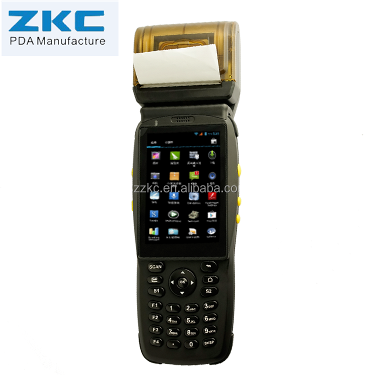 Rugged Handheld Android 1d 2d Barcode Scanner PDA with Large Screen