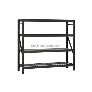 Hot Heavy Duty Steel Goods Shelf Warehouse Rack Metal Shelving Storage Rack  5 Levels Iron Rack