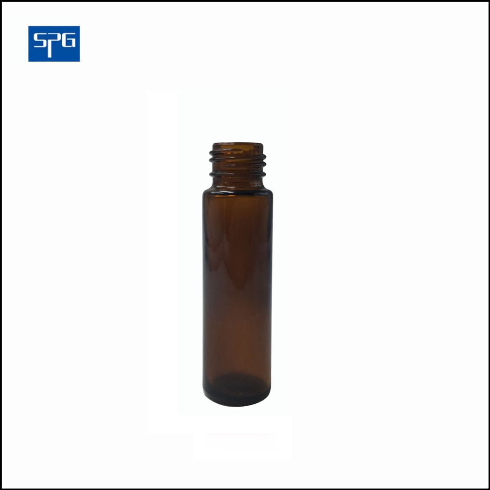 10ml Roll on amber glass bottle for perfume