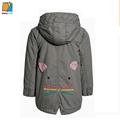 YAKUYIYI 2016 Brand New Autumn Girls Coat warm hooded kids girl winter jacket brand fashion Children