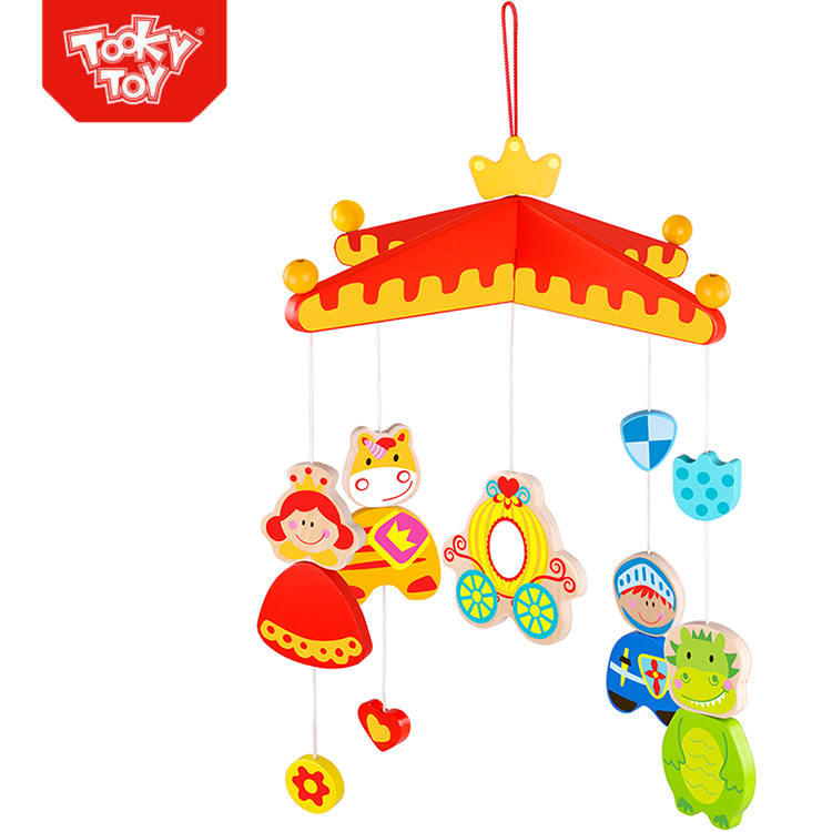 Wooden Baby Mobile Healthy Development Play Toy