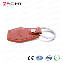Provide Free Samples to Test Writable Ntag215 NFC Tag Leather