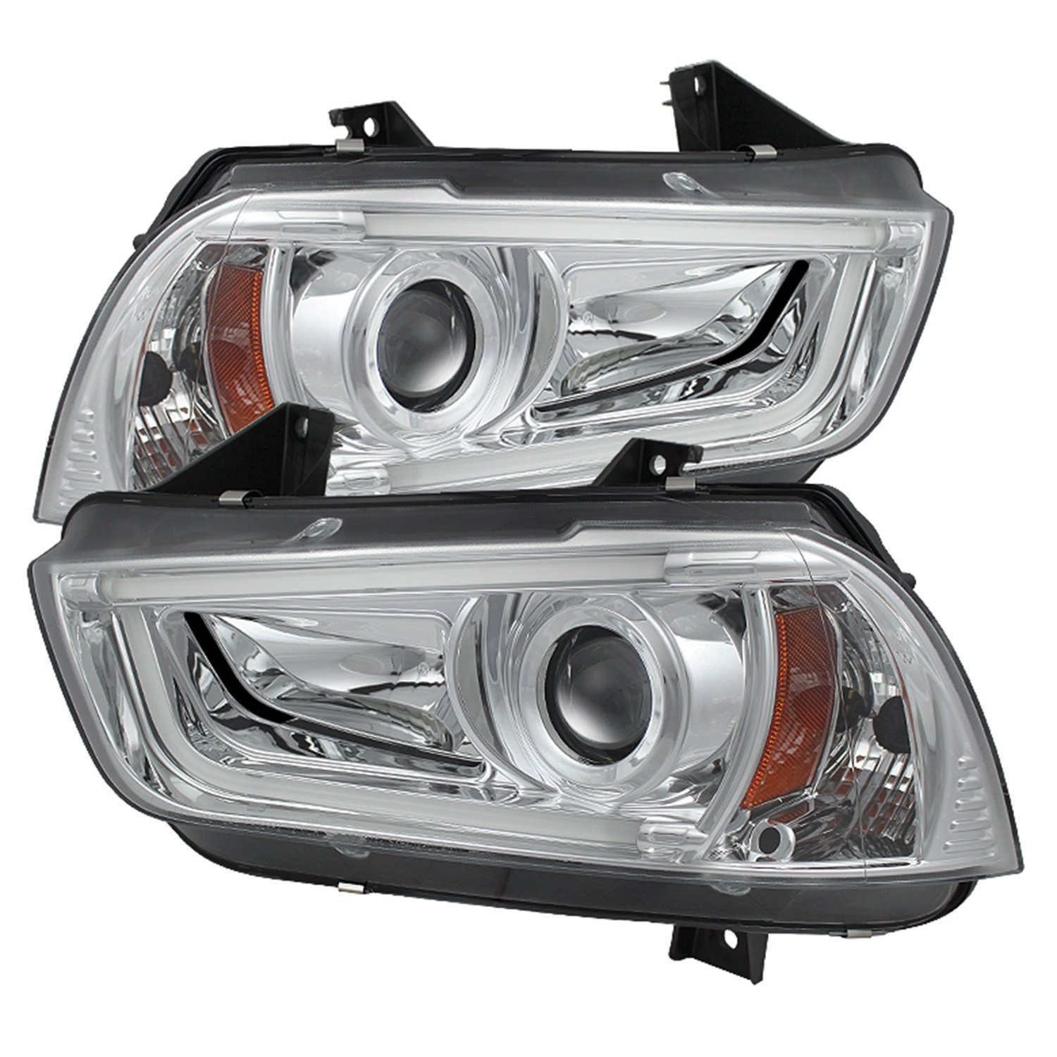 Spyder Auto (PRO-YD-DCH11-LTDRL-C) Dodge Charger Projector Headlight