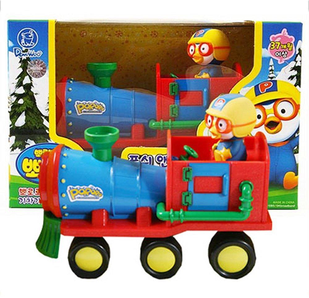 Pororo Mini Train Push & Go Toy Cars Full back Gear Animation Children Kids Gift /ITEM#G839GJ UY-W8EHF3190000