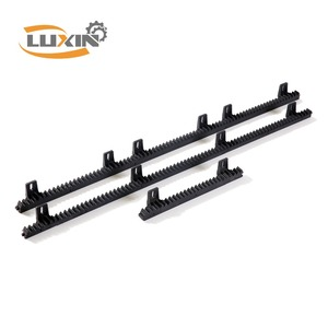 Black plastic gear rack for sliding gate