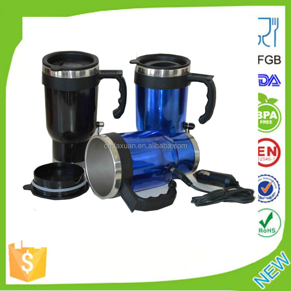 Auto Mug for Travel /Stainless Steel Car Electric Kettle
