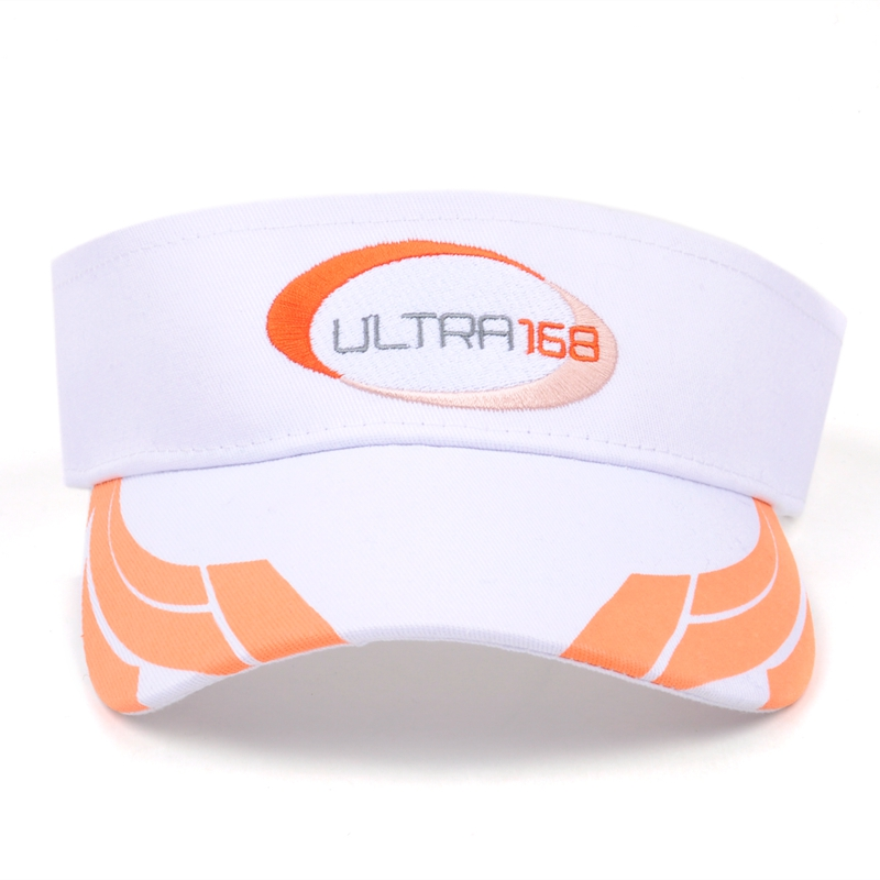 wholesale sun visor elastic back,custom embroidery sun visor cap,cheap sun hat