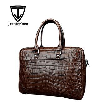 aadbc866ac0e Exotic skin real crocodile leather handbag