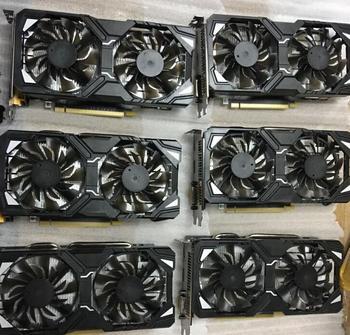 VGA Mining Graphics Card Sapphire RX580 Manli GTX1070 GTX1080 Ti 4GB