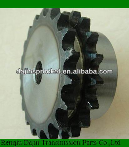 dajin ANSI standard Wheel Sprocket /High quality industry sprocket/high heat-treatment R60-7 industrial sprocket