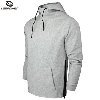 f6f55bc8ac3 OEM China Factory Custom 100% Cotton French Terry Mens Gym Wholesale Hoodie
