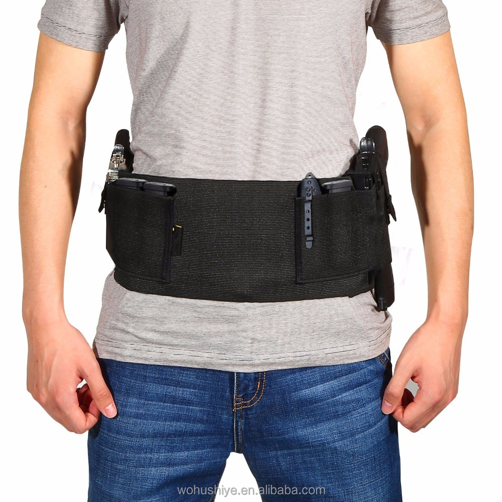Belly Band Concealed Carry Elastic Waist Band Hand Gun Holster - Buy Gun  Holster,Concealed Carry Gun Holster,Concealed Carry Elastic Gun Holster