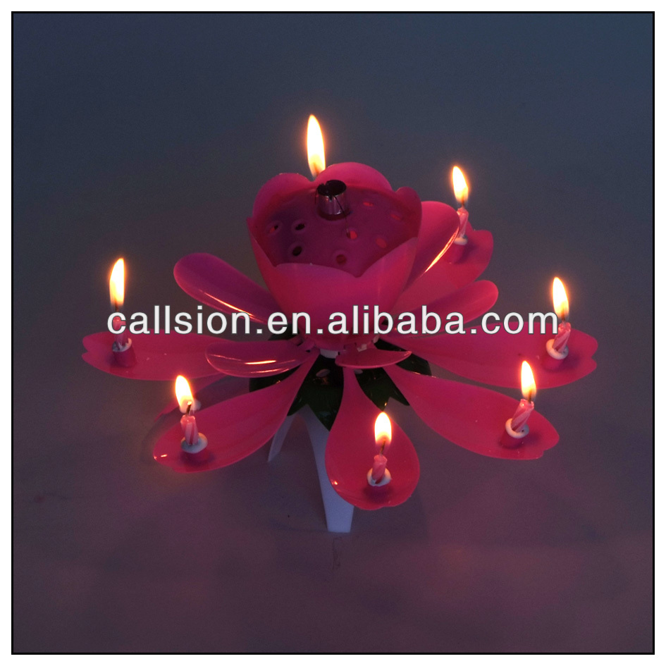 China blooming flower candle wholesale alibaba izmirmasajfo