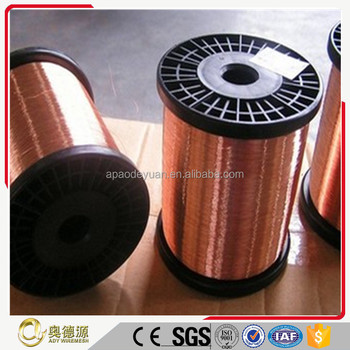 Hot exporting heat resistant enameled electrical copper wire spool China manufacturer