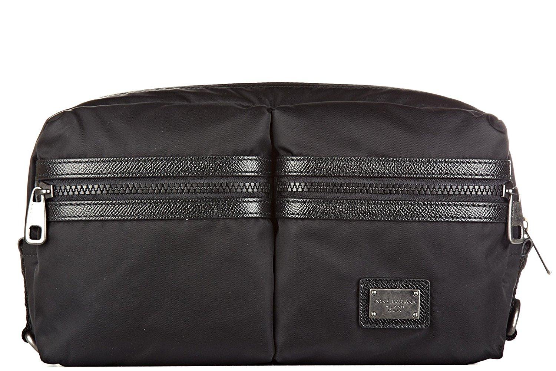 Get Quotations · Dolce Gabbana men s belt bum bag hip pouch dauphine black 0626656823b7