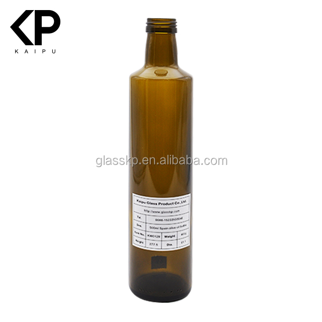 500ml olive oil bottles glass