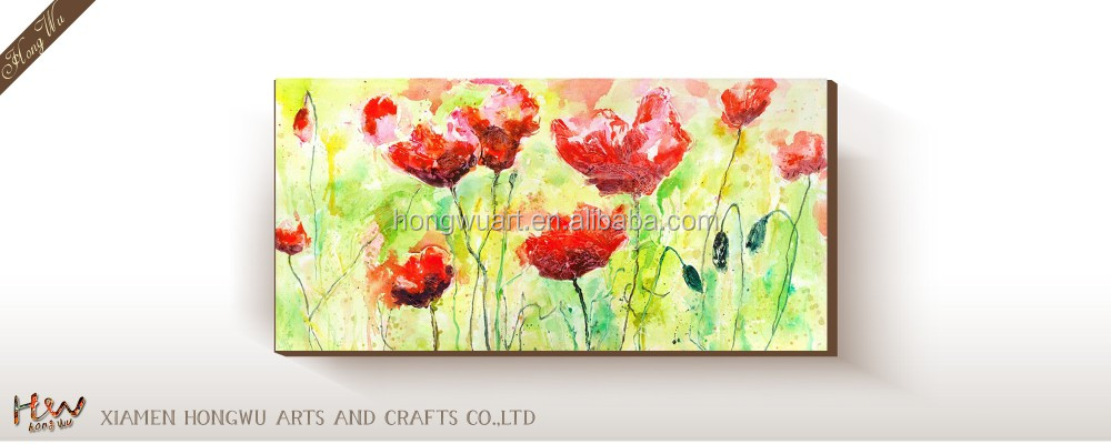 Art Oil Painting Picture Abstract of Flowers