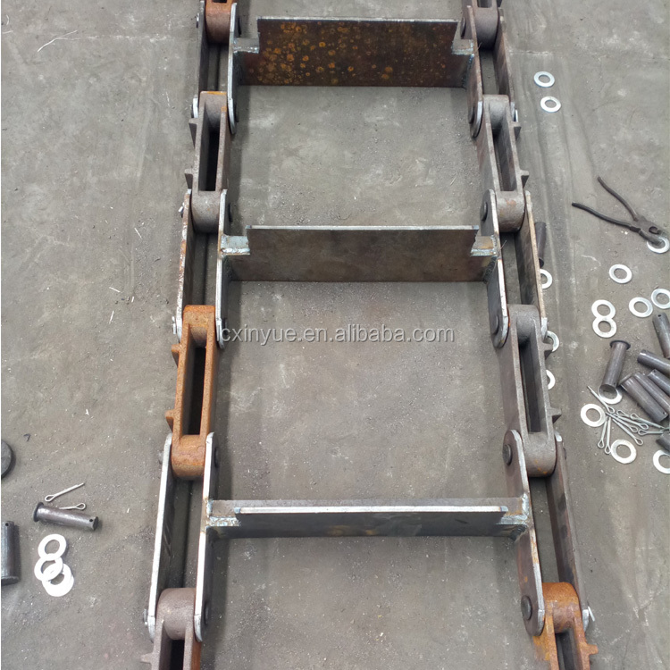 Exported new casting parts boiler auxiliaries chain conveyor