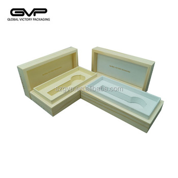 Chinese manufacturer natural solid wooden watch box for sale