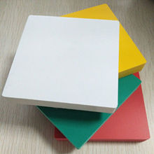 Hot sale waterproof pvc plastic foam 3d print board