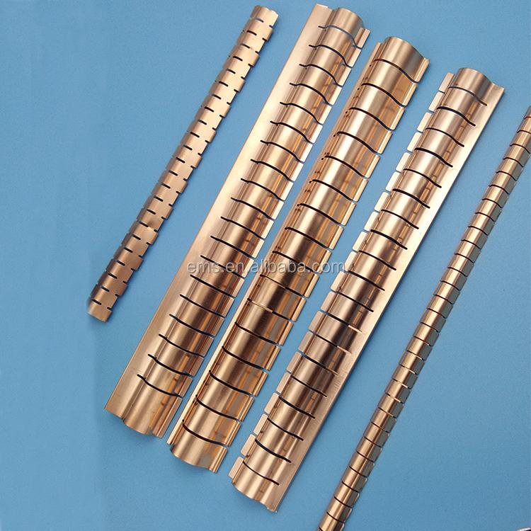 Beryllium copper finger sto