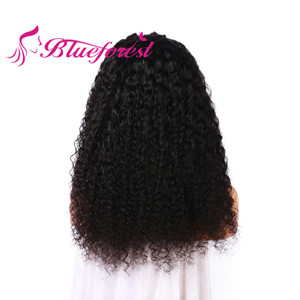 factory supply kinky curly human hair high quality wig supplies