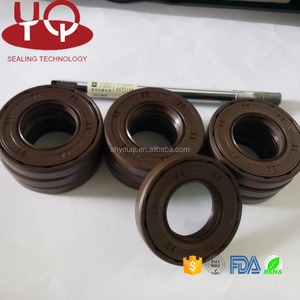 Brown FKM Rubber oil seal Good Oil reasistance Sealing o ring seals  Motorcycle Oil Seal