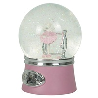 Custom wholesale resin australia ballerina hand painting Souvenir Snow globe