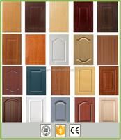 Cheap thermofoil door curved doors kitchen cabinet door