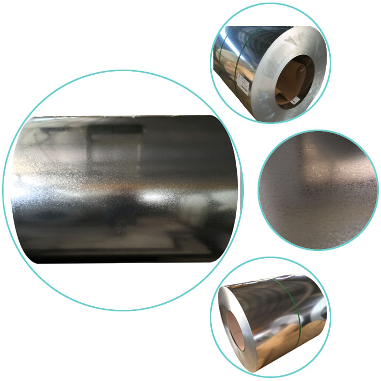 Cold Rolled Zinc steel coils GI coils galvanized sheet made in China