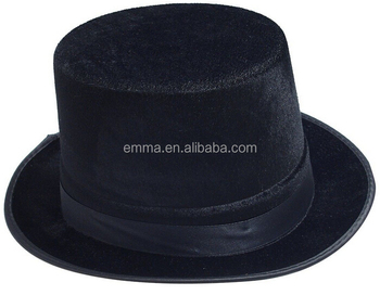 New fashion men s felt top hat .jewish hat .black top hat for sale HT9847 35c185b0977