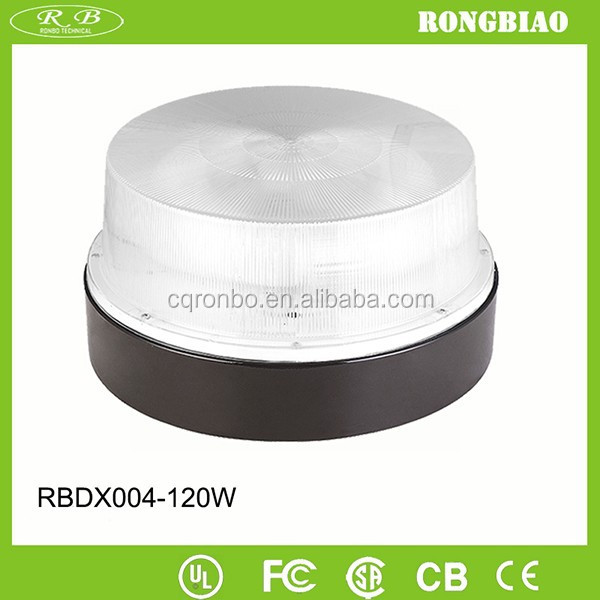 General Purpose Recessed 5000K 85-277V Polycarbonate Cover Induction 120W Ceiling Lighting Fixture