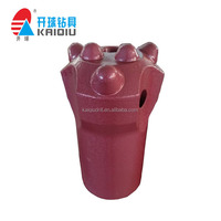 Mining Rock Button bit,short/long skirt of Tapered Drilling Bit (7degree)