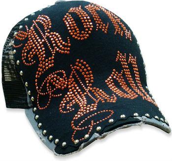 Bulzeye Couture  quot Rock   Roll Stud quot  Trucker Hat  d83253223f6