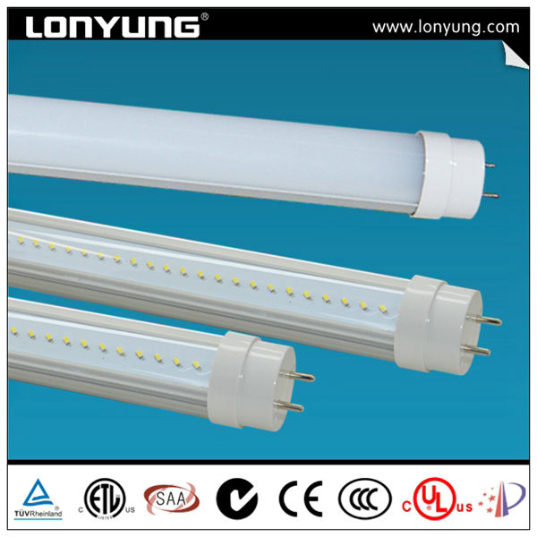 led tube spain t8 with G13 lamp holder with TUV ETL CE SAA