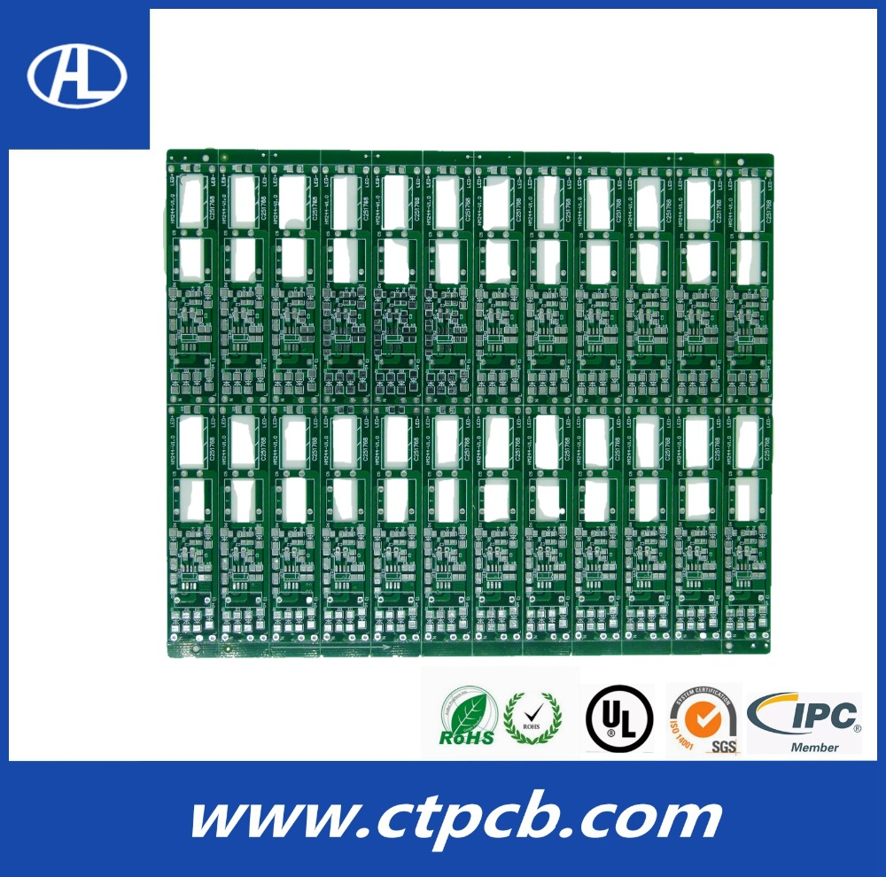 high quality quick turn white solder mask pcb substrate fr4 pcb