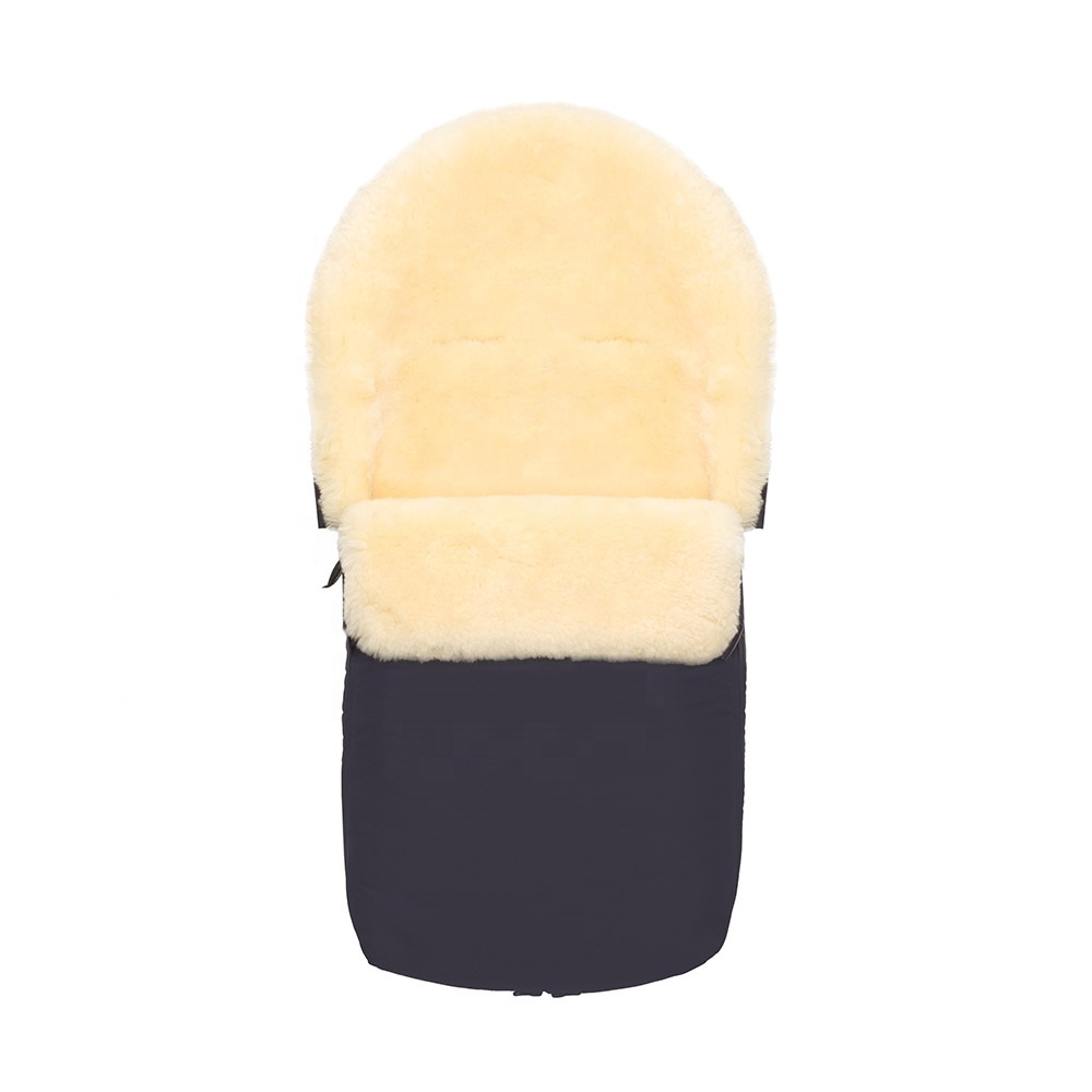 Sheepskin Baby Sleeping Bag Footmuff View Sleeping Bag