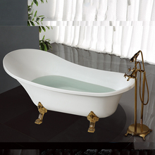 HS-B512 5 inch clawfoot tubs/ classic design bathtubs prices and sizes