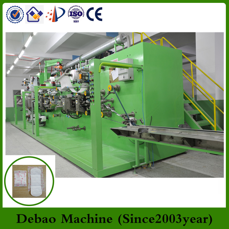 Sanitary pads making machine for women