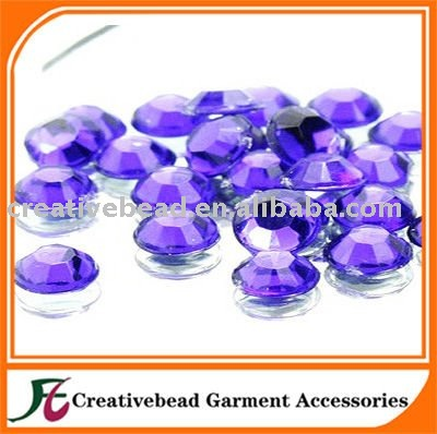 Alibaba express non hot fix acrylic rhinestones for crafts