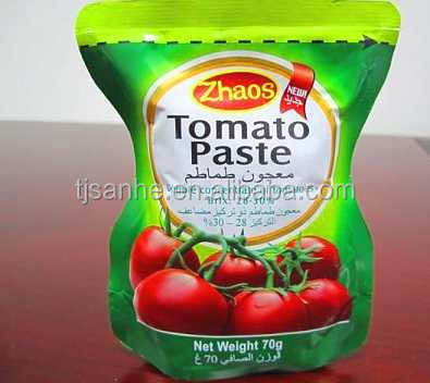 Canned / Pouch tomato paste/ ketchup Preservation Instant food vegetarian